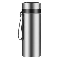 大容量304不锈钢保温杯泡茶杯带过滤网便携带提绳男士户外水杯