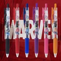 新款日本ZEBRA斑马JJ15漫威SARASA限定款水笔学生0.5mm彩色按动卡通动漫中性笔