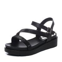 Senda/森达2017夏季专柜同款时尚甜美休闲女凉鞋3SI36BL7