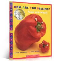 英文原版绘本How are you peeling? 情绪表达词汇 张湘君 吴敏兰推荐绘本123