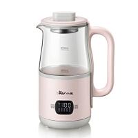 小熊(Bear)养生壶 迷你养生杯办公室小型花茶壶煮茶器0.6L玻璃加厚电热烧水壶煮粥杯 YSH-C06B1