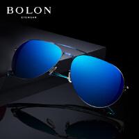 BOLON暴龙多色炫彩太阳镜男女复古蛤蟆镜金属墨镜开车眼镜BL2560