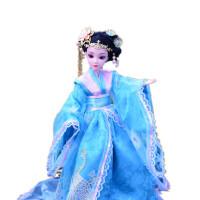 儿童古装白浅花千骨巴比娃娃衣服女童女孩中国古代公主玩具单个