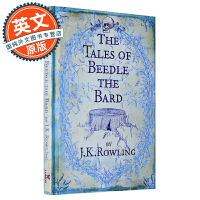 诗翁彼豆故事集 英文原版 哈利波特外传 The Tales of Beedle the Bard JK罗琳 5个独立魔法故事 英国版 Bloomsbury 精装