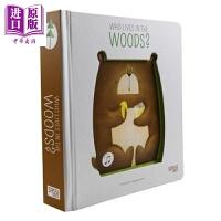 【中商原版】Sound Books Bonaguro:谁住在森林里 英文原版有声书
