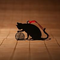 碳墨轩 物语系列 线球猫 创意书签 当当自营