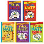 英文原版章节书 Big Nate 轻松有趣的Big Nate系列10本 捣蛋王 大奈特 Lincoln Peirce