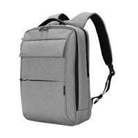 卡拉羊双肩包男士商务电脑包休闲旅行包防盗背包旅行商务休闲包