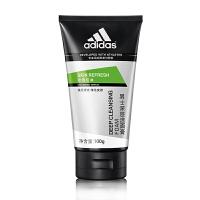 阿迪达斯(adidas) 男士洗面奶深层 清洁控油保湿洁面乳系列