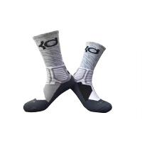 新款户外运动袜子毛巾底跑步袜男士中高筒毛巾袜吸汗短袜加厚篮球袜