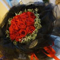 抖音同款鲜花成都鲜花同城速递红玫瑰花束礼盒生日送女友双流华阳龙泉花店配送