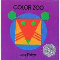 Color Zoo 英文原版 五彩动物园
