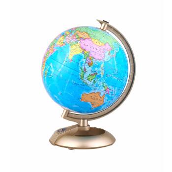 博目地球仪:20cm新课标学生专用地球仪(高清大字版)112027注记清晰,无线设计,环保灯源,赠送电池