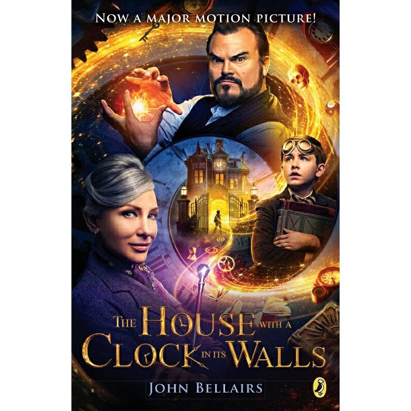 【中商原版】滴答屋 英文原版 电影科幻小说 House with a Clock in Its Walls Edward Gorey Puffin Books