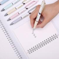 按动中性笔黑色签字笔水笔黑笔笔 学生用办公文具笔水笔