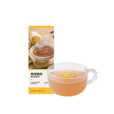 【网易严选 食品盛宴】西湖藕粉 30克*12袋 传统研磨,三味清香
