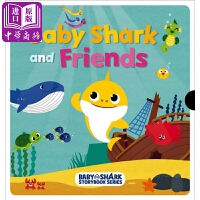 【中商原版】鲨鱼与朋友友谊故事Baby Shark And Friends Box Set