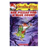 英文原版 老鼠记者 7 :忧郁伯爵的红披萨 Geronimo Stilton #07: Red Pizzas For