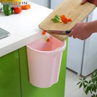 厨房橱柜门挂式垃圾桶塑料家用客厅卧室抽屉无盖杂物篓桌面小