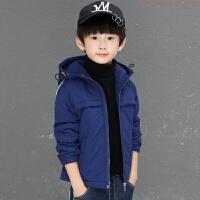 童装男童棉衣外套冬装2018新款棉袄儿童中大童加绒加羽绒厚潮