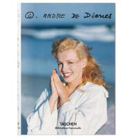 英文原版现货 ANDRE DE Dienes安德烈・德・迪耶纳 摄影艺术