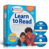 【全店300减100】英文原版迷上语音系列 Hooked on Phonics Learn to Read - Leve