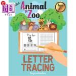 【中商海外直订】Alphabet Letter Tracing for Preschoolers: Animal an