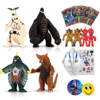 罗布银河战士奥特曼怪兽玩具模型 软胶怪兽模型人偶套装 捷德哥莫拉雷德王双魔王兽摆件儿童玩具男孩礼物