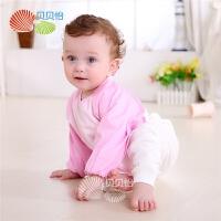 四季长袖儿童罩衣宝宝反穿衣婴儿罩衣画画衣