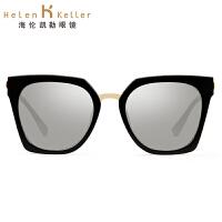 海伦凯勒太阳镜2017年新款 女款时尚都市潮流墨镜女 优雅典范H8612