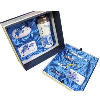青花瓷套装 礼品 双层大礼盒 可定制LOGO文字 8件套