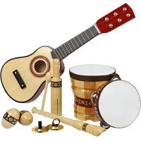 儿童生日礼物宝宝吉他玩具智力女孩男孩子1-3-6周岁男童乐器套装