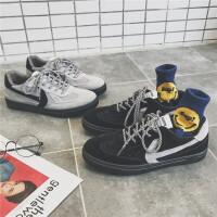 春季新款百搭透气运动帆布鞋男士休闲低帮板鞋韩版青年潮流男鞋子