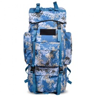 战神户外登山包115L男女大容量双肩包背囊行李旅行包徒步07迷彩