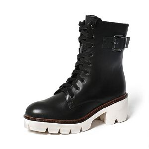 Teenmix/天美意专柜同款牛皮女中靴6Q861DZ6