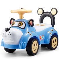 幼儿车四轮溜溜儿童扭扭车带音乐滑行溜溜车宝宝四轮学步助车1-3岁童车玩具