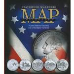 【预订】Statehood Quarters Collector's Map: Plus the District o