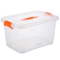 衣柜衣物收纳盒整理盒子大小号套装透明储物箱塑料收纳箱整理箱子 5件套 特大+加大+大+中+