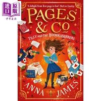 【中商原版】穿梭童话集1 Pages & Co.:Tilly and the Bookwanderers 9-12岁童