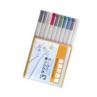 金万年G-0968金属色10色记号笔 金属彩色笔油漆笔彩色相册贺卡笔 不易褪色高光笔黑卡纸涂鸦笔