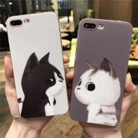 苹果6手机壳6s硅胶保护套iPhone7浮雕8plus全包防摔x卡通可爱女款