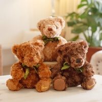 可爱小熊公仔泰迪熊毛绒玩具结婚活动礼品物布娃娃七夕情人节礼物
