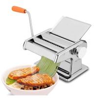 压面机家用面条机小型手动不锈钢擀面机饺子馄饨皮机