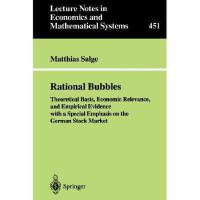 【预订】Rational Bubbles: Theoretical Basis, Economic