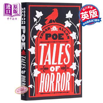【中商原版】爱伦·坡恐怖故事集 英文原版 Alma Classics:Tales of Horror / Edgar Allan Poe 惊悚小说经典