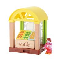 仿真过家家娃娃屋3-5-6-8岁儿童房子玩具小屋女孩积木拼装
