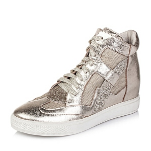 Teenmix/天美意秋专柜同款羊皮女靴6QJ40CD5