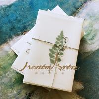 设计师设计手工包装盒精美礼盒植物装饰复古花纸礼品
