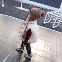 儿童马甲冬季加厚婴儿马甲秋冬款女童2018新款童装宝宝背心款外穿