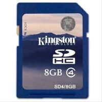 Kingston/金士顿 8G SDHC 存储卡 class4 高速相机卡 内存卡
